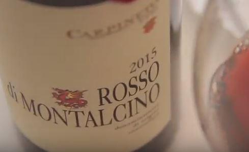 Rosso di Montalcino Red Wine Mushroom Risotto with Crispy Pig Cheek