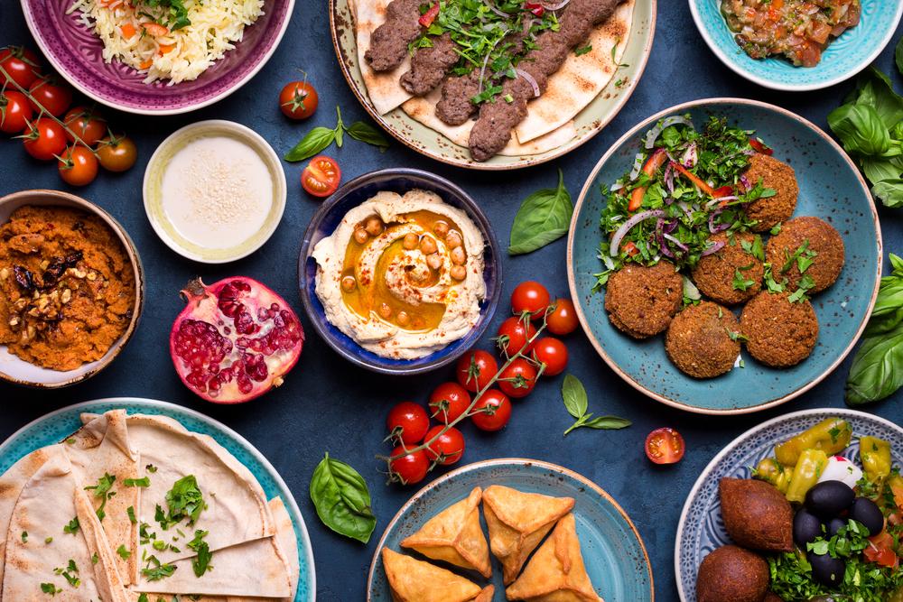 Il vino con i piatti tipici della cucina mediorientale