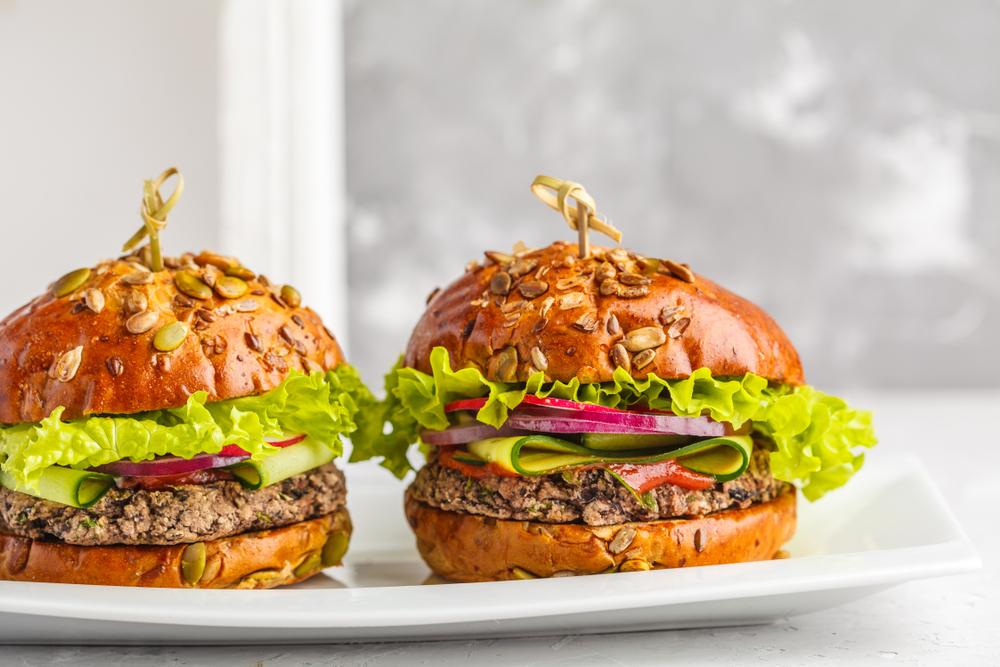 Il veggie burger perfetto per il barbecue