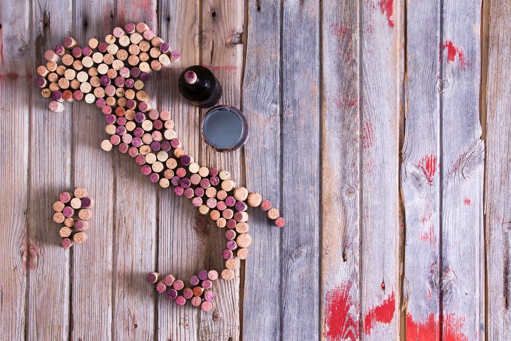 Una breve guida al vino italiano: nord contro sud