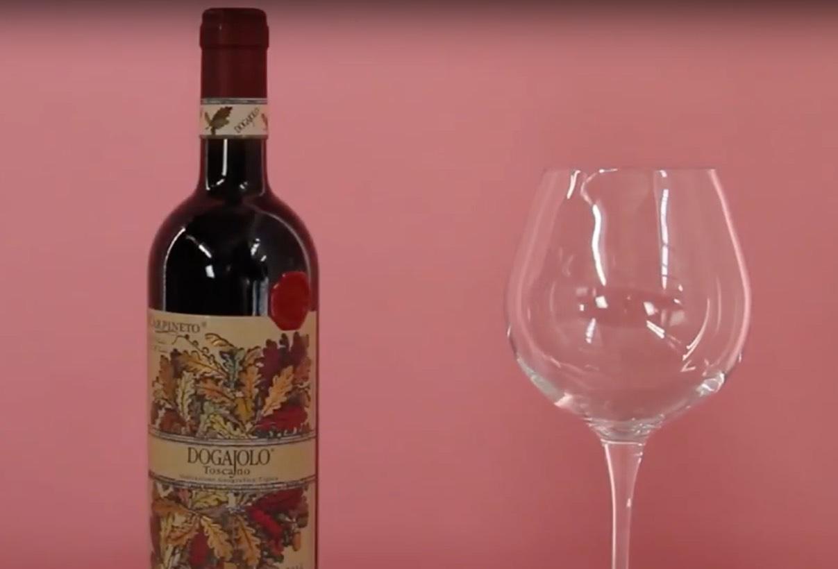 Wine tasting - Dogajolo Rosso Toscano I.G.T.