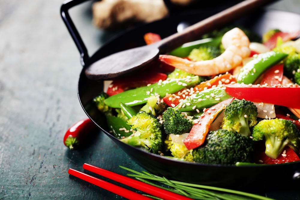 I vini giusti per un piatto di verdure saltate