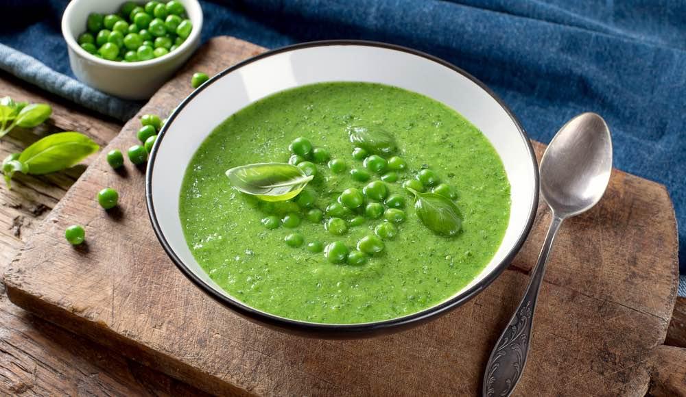Fresh Cream of Spring Pea Soup Recipe