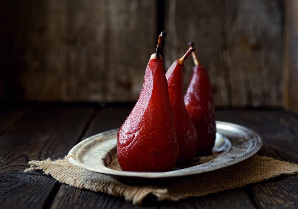 La ricetta delle pere al vino rosso