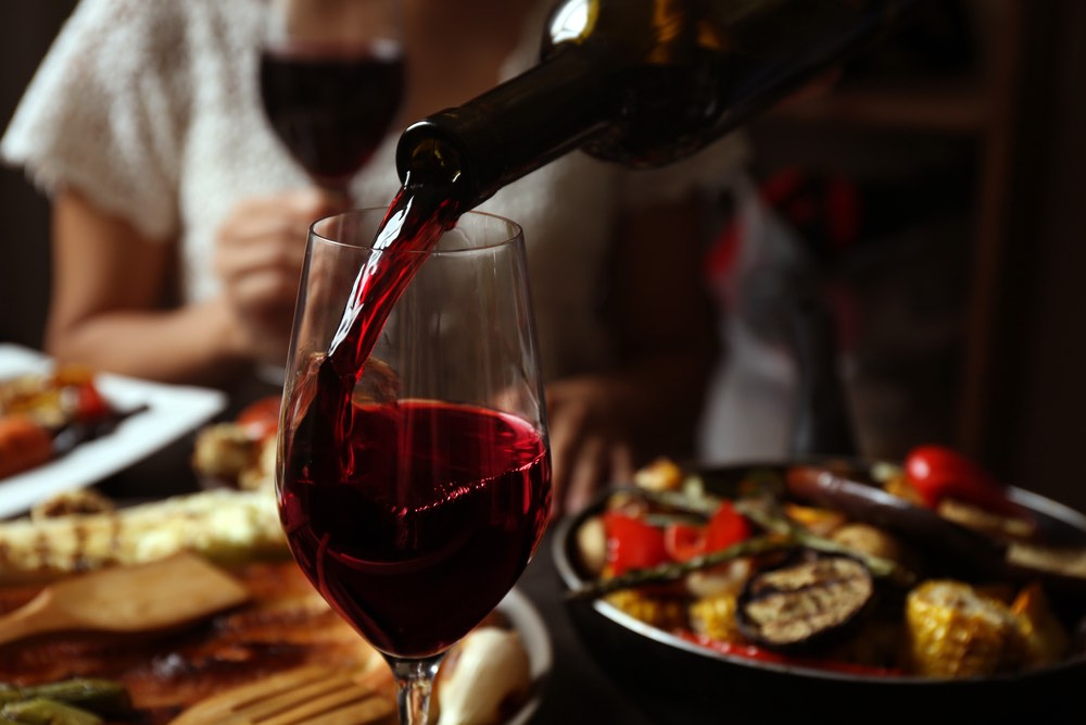 La dieta del vino rosso