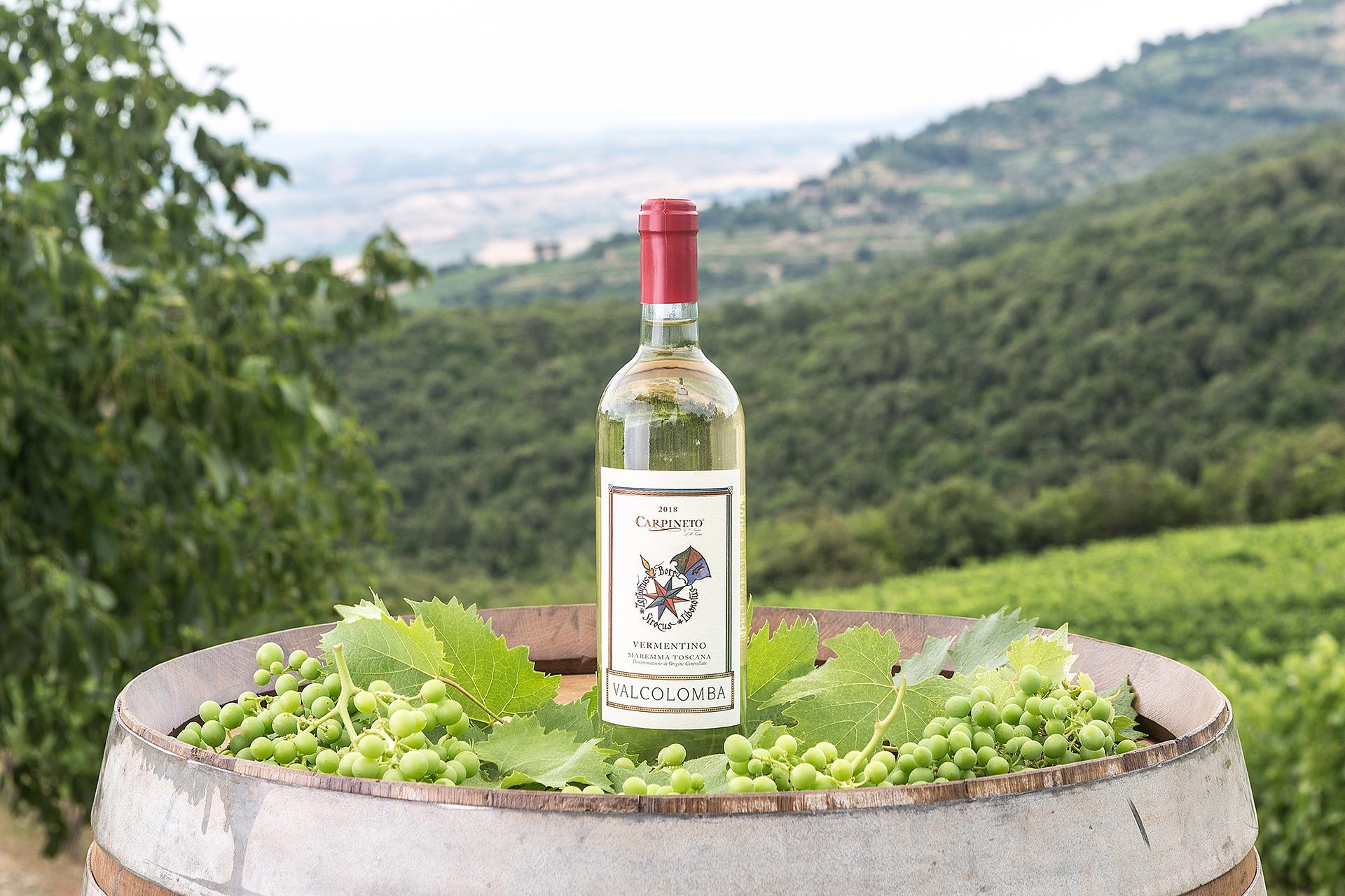 Estate fa rima con… Vermentino Valcolomba della Maremma Toscana DOC