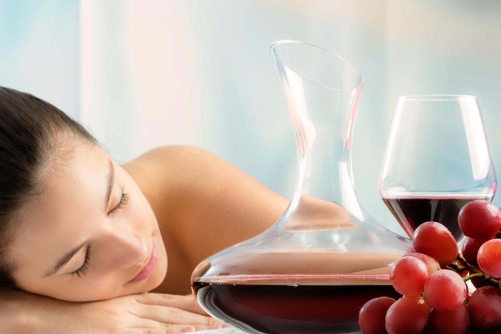 Il vino elisir di bellezza
