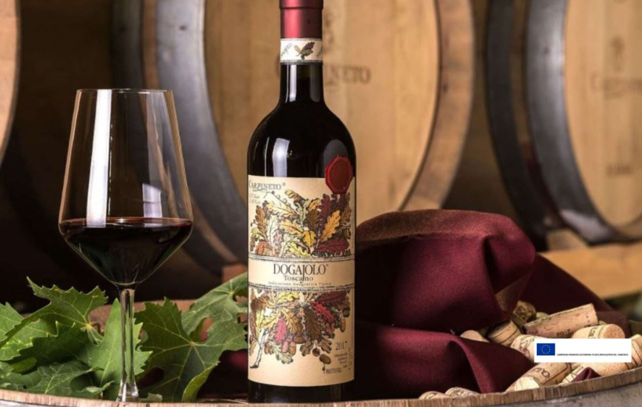 Taste Your Way Through Tuscany with Dogajolo Rosso